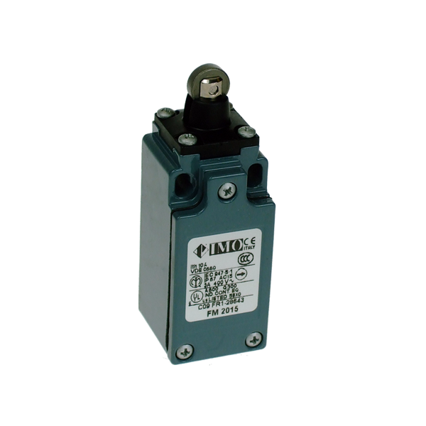 FM2015 Limit Switch, Compact Sealed Roller Piston Plunger NO+NC Snap Action Metal Body 1 x PG13.5 Entry