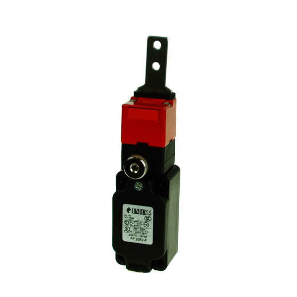 FP20R2-F Limit Switch, Standard Door Interlock, Flat Act. NO+2NC With Delayed Release Plastic Body 1 x PG13.5 Entry