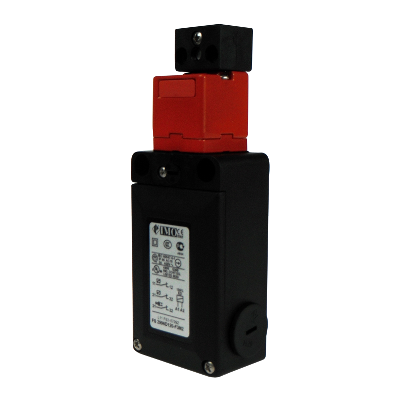 FS2996D120-F3M2 Safety Door Interlock Solenoid Operated, Adj, Act. 3NC, On To Release, 120VAC Plastic Body 1 x M20 Entry