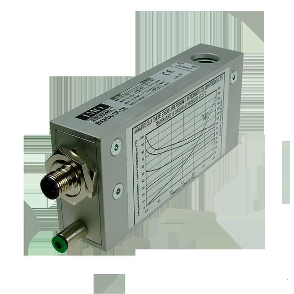 BX80A/1P-1H Photo-Electric Area Sensor Through-Beam Receiver,M12 Plug DC NO/NC PNP, Sn=2m, Rs. 6mm Aluminium Body