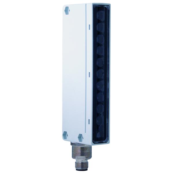 BX80A/3P-0H Photo-Electric Area Sensor Through-Beam Receiver,M12 Plug DC NO/NC PNP, Sn=1. Rs 6mm PBT + 30% FV Body, PC Lens