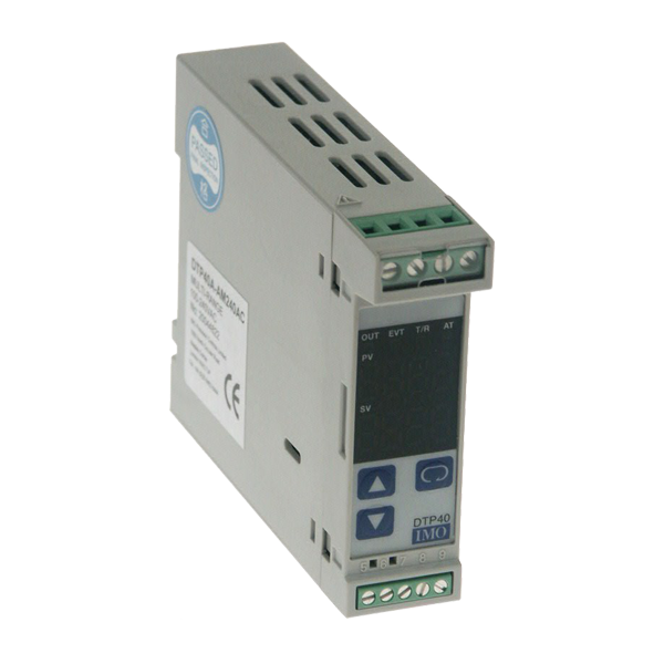 DTP40A-RM24VDC PID Controller, Din Rail Mtg Multi input, Relay Output  20-28Vac/dc Supply