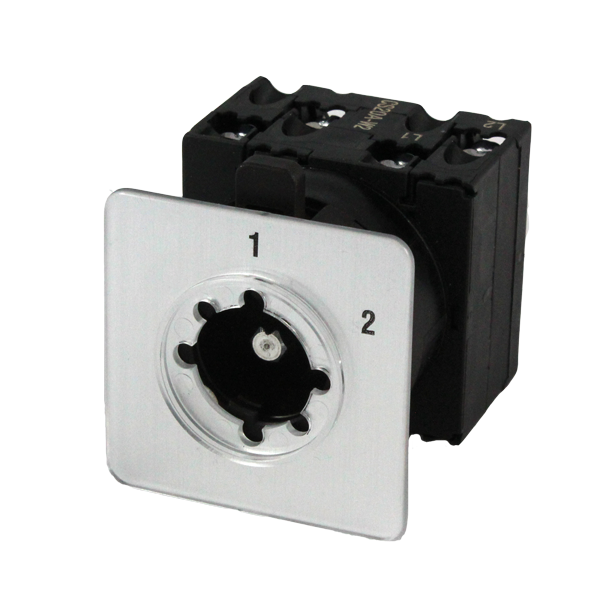 CS20A-W2 Cam Switch 2 Pole 2 Position 20Amp, Changeover Without Off, With Lengend Plate