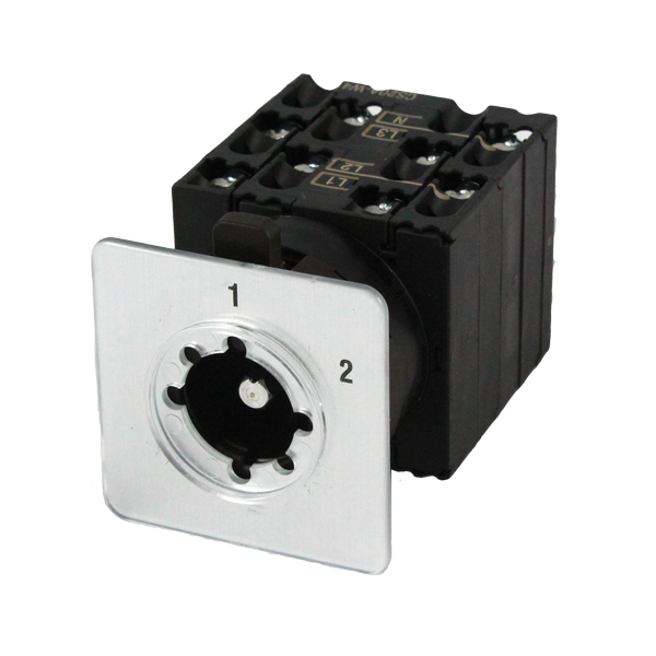 CS20A-W4 Cam Switch 4 Pole 2 Position 20Amp, Changeover Without Off, With Lengend Plate